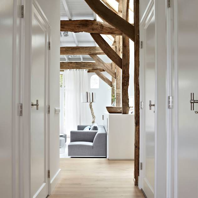 country Corridor, hallway & stairs by reitsema & partners architecten bna