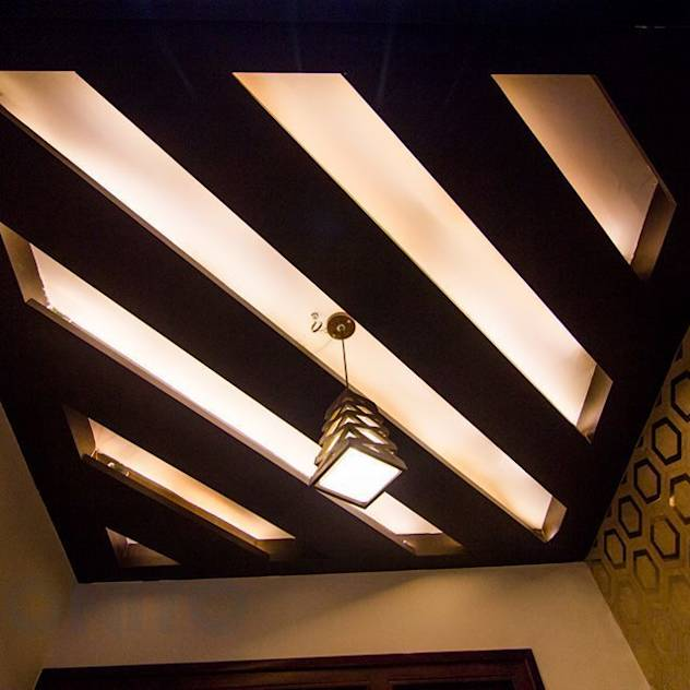 False ceiling design : Wall & floor coverings by Bonito Designs Bangalore