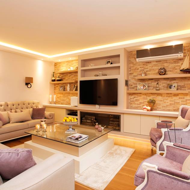 Classic style living room by Canan Delevi