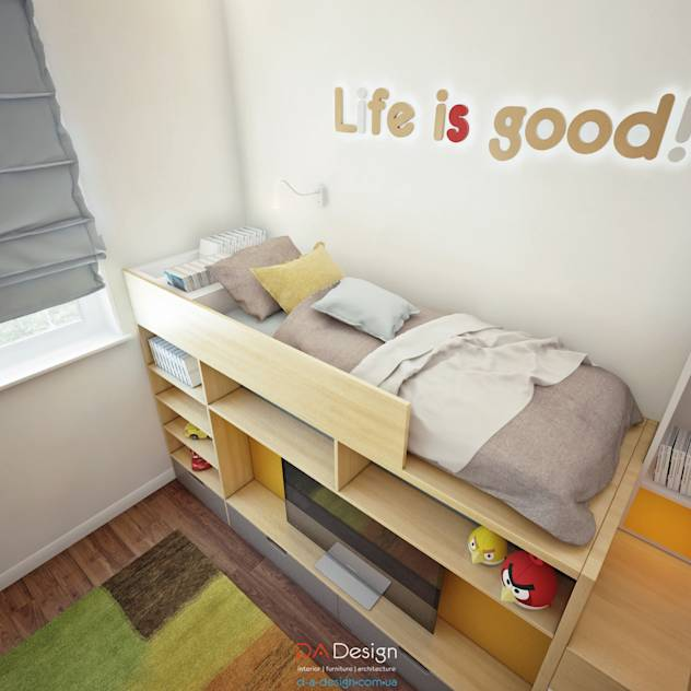 Minimalist Nursery/kid's room by DA-Design