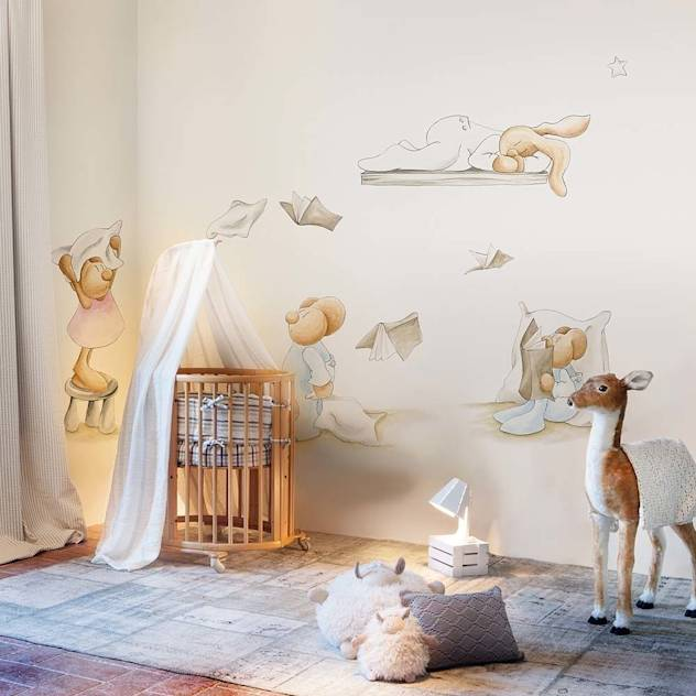Pilar Burguet Mural ref 3400075 : Wallpaper by Paper Moon