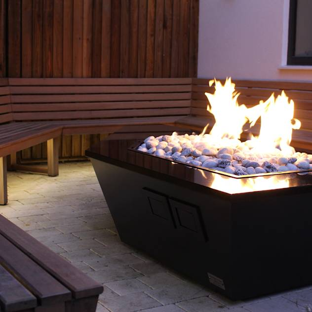 Stealth Boat Fire Table – Southampton : Bracieri & Barbecue di Rivelin