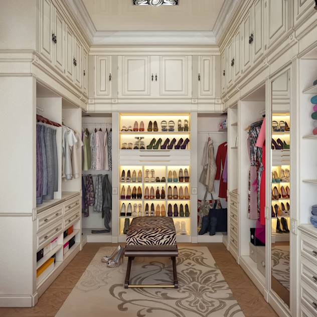 Closets por Sweet Home Design