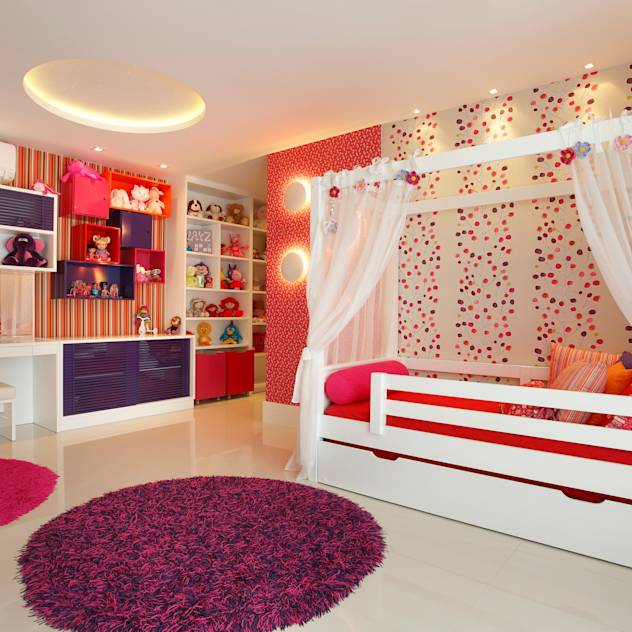 Quarto infantil : Modern nursery/kids room by Arquitetura e Interior