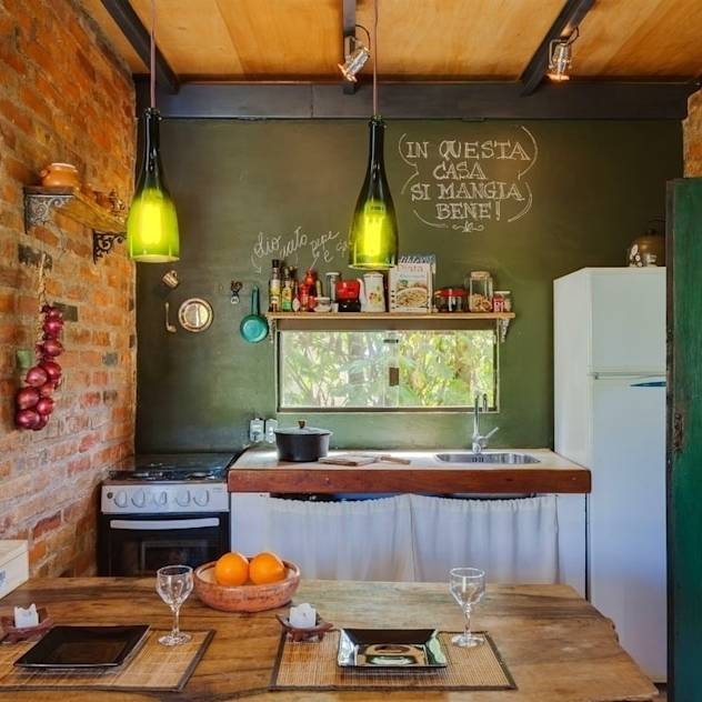 black board kitchen