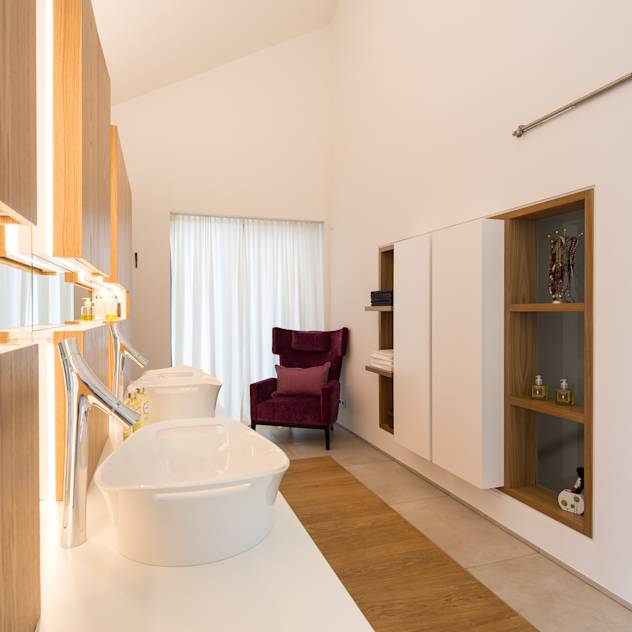 Bad : Bagno moderno di schulz.rooms