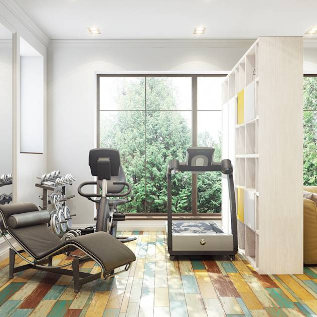 Eclectic style gym by Bronx