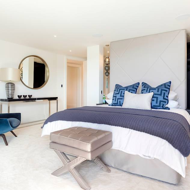Bedroom: Modern Bedroom by WN Interiors of Poole in Dorset
