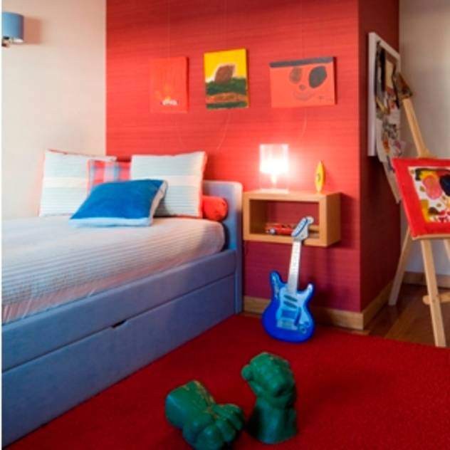 Modern Nursery/kid's room by Andreia Marques Designer de Interiores