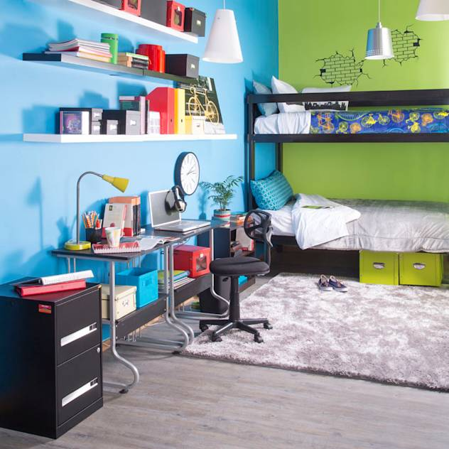 Recámara infantil : Beds & headboards by Idea Interior