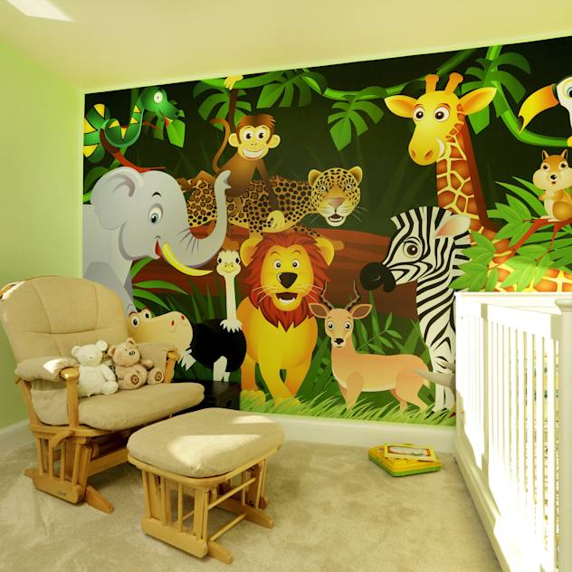 Homify 360º Articles Tips Information Homify: Home & Interiors: Nursery Inspiration » HELLO BEAUTIFUL BEAR