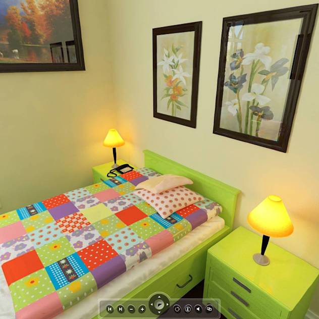 Residential project : Modern nursery/kids room by ARY Studios