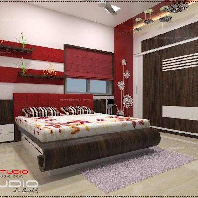 Bedroom designs : Modern bedroom by Desig9x Studio