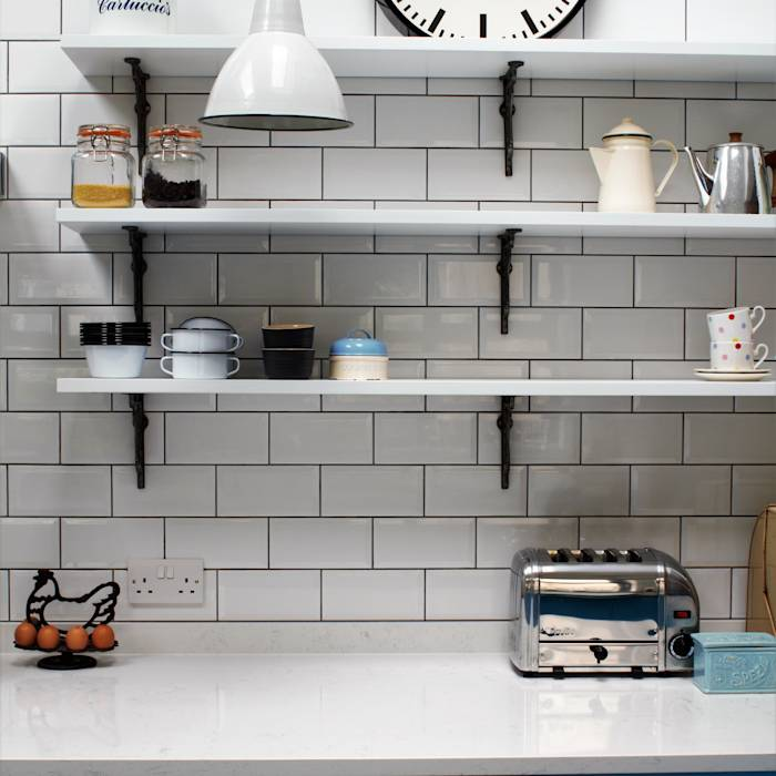 Industrial Kitchen With American Diner Feel : Кухня в стиле лофт от Sustainable Kitchens