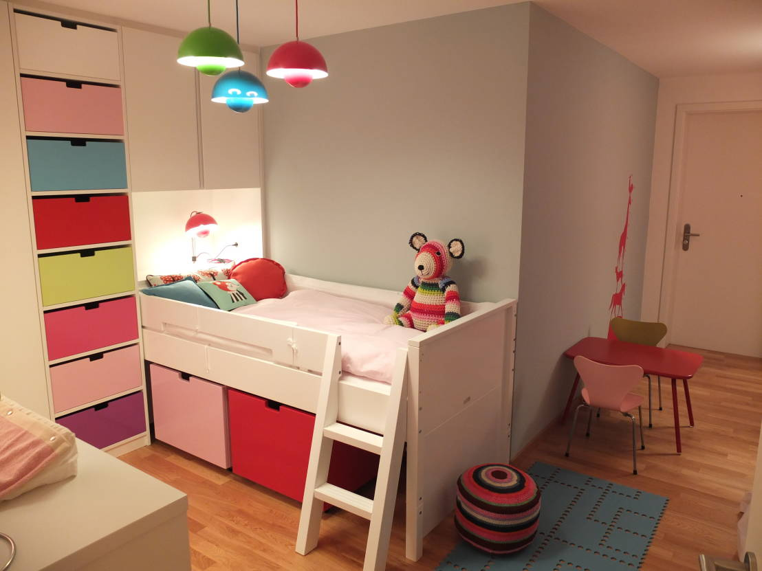10 ideen wie farben kinderzimmer versch nern. Black Bedroom Furniture Sets. Home Design Ideas
