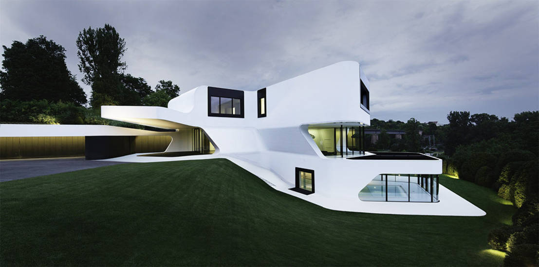 Dix exemples d architecture moderne for Architecture organique exemple