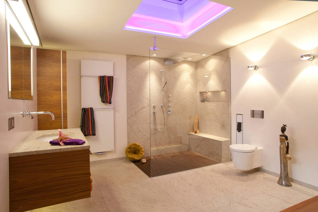 Luxus im badezimmer for Modernes baddesign