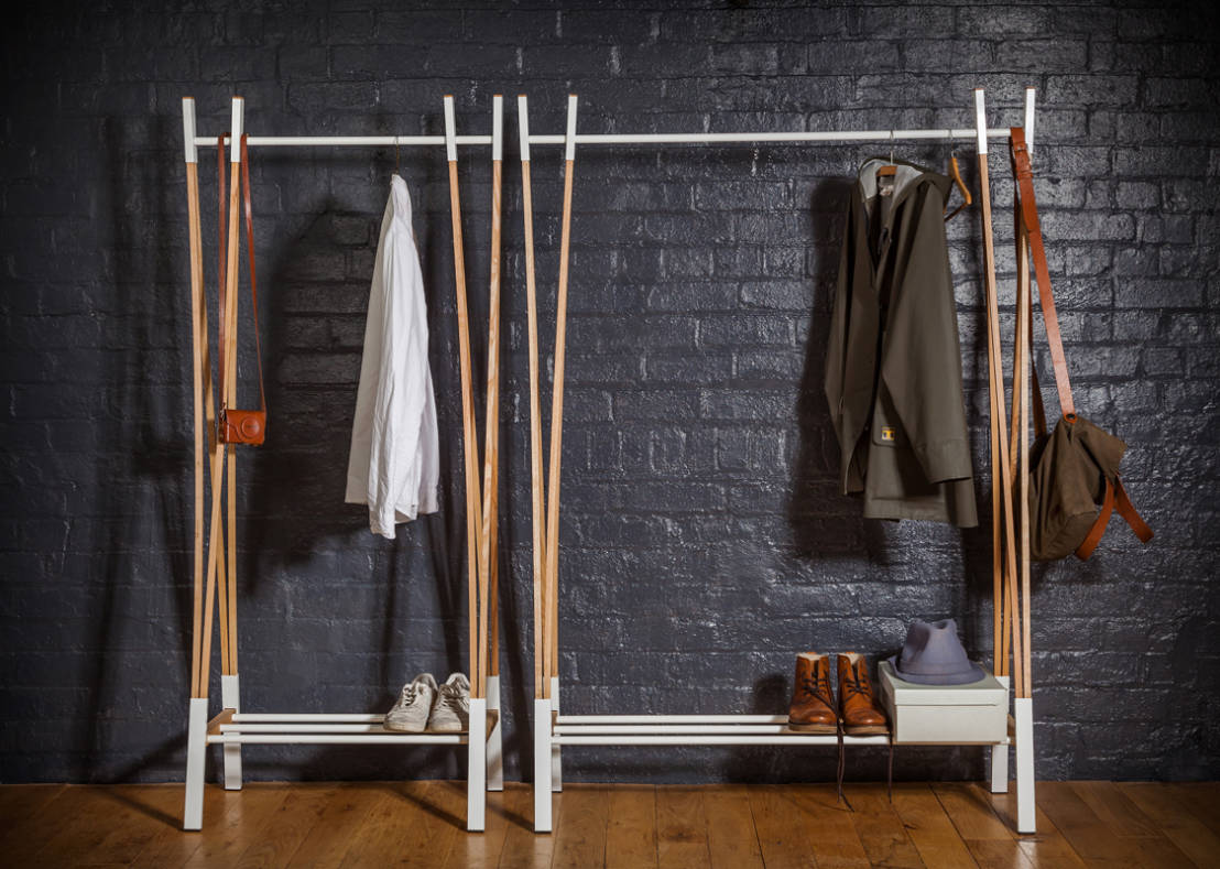 Clothes rails and racks for clothes - Fabriquer un portant ...