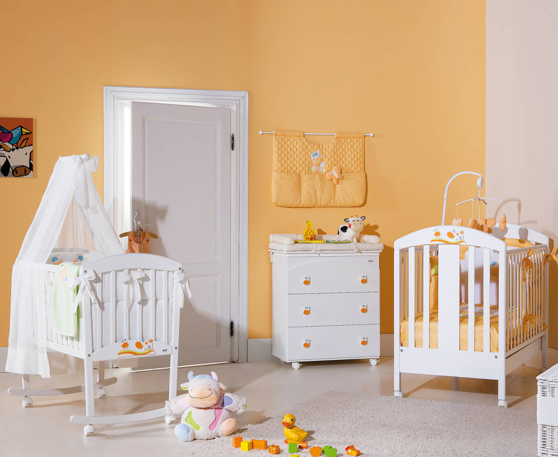 Belle orange chambre bebe id es de design maison et id es de meubles for Orange chambre bebe
