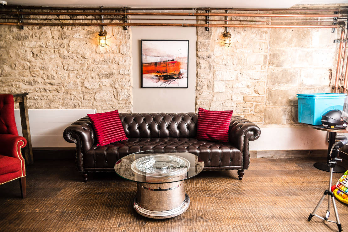On Location Eclectic Style Living Room By Fallen Furniture