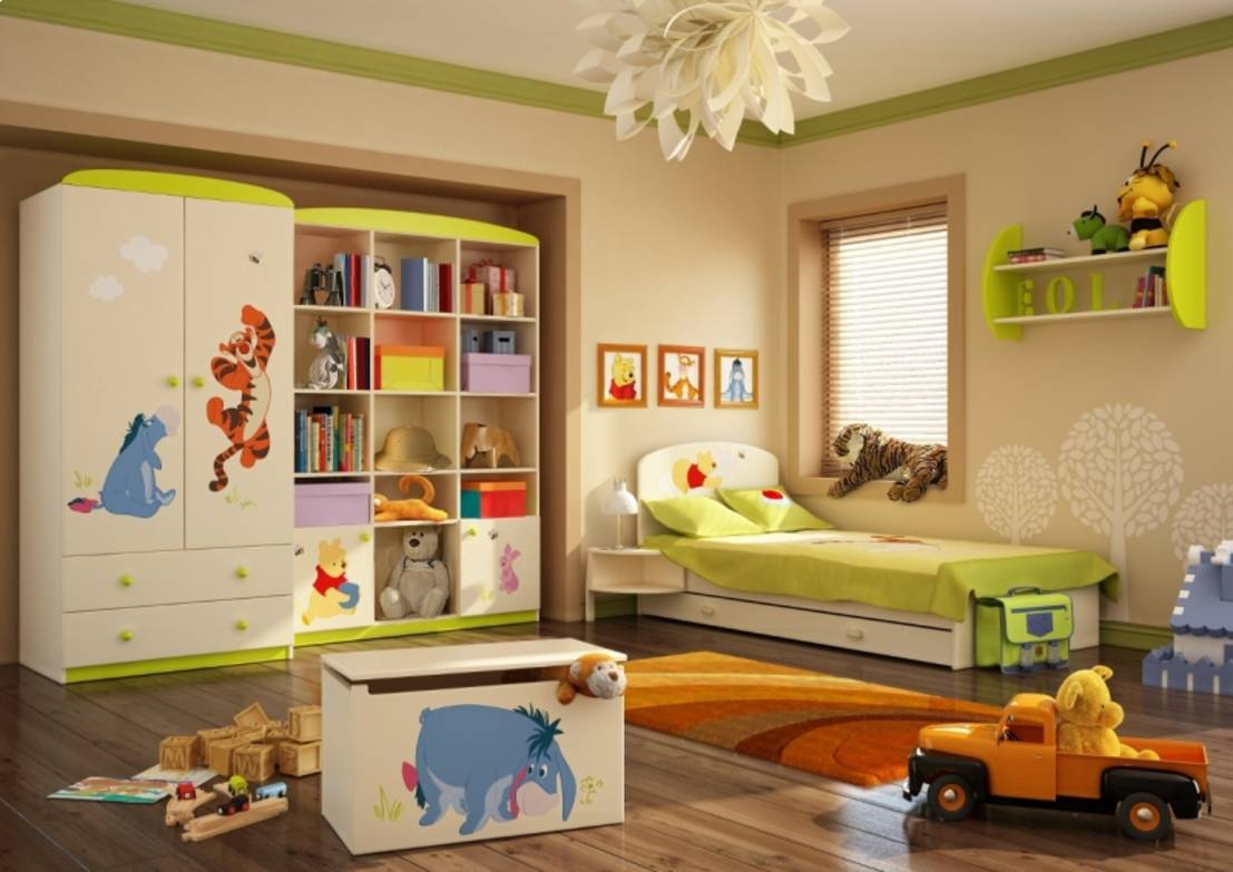 10 ausgefallene ideen um das kinderzimmer zu gestalten. Black Bedroom Furniture Sets. Home Design Ideas
