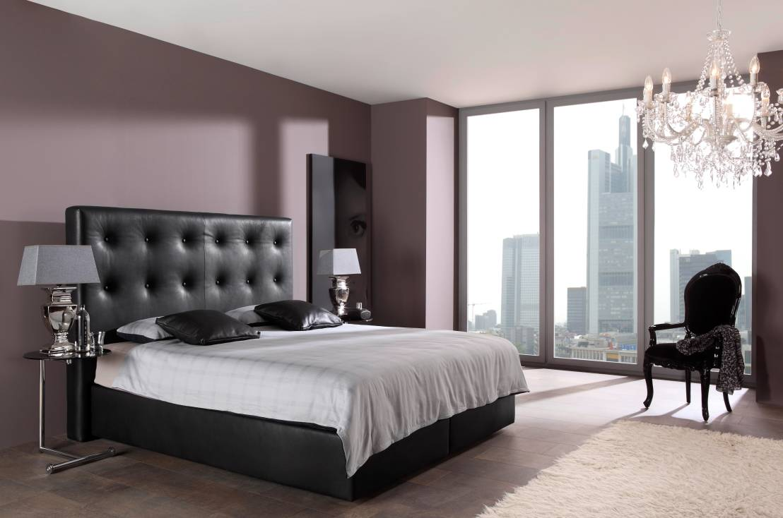 boxspringbetten. Black Bedroom Furniture Sets. Home Design Ideas