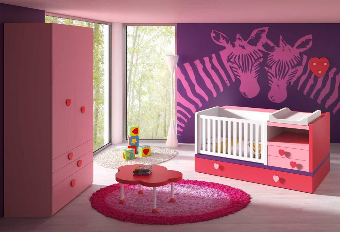 mit t raumhaften zimmerdecken und w nden kinderzimmer. Black Bedroom Furniture Sets. Home Design Ideas