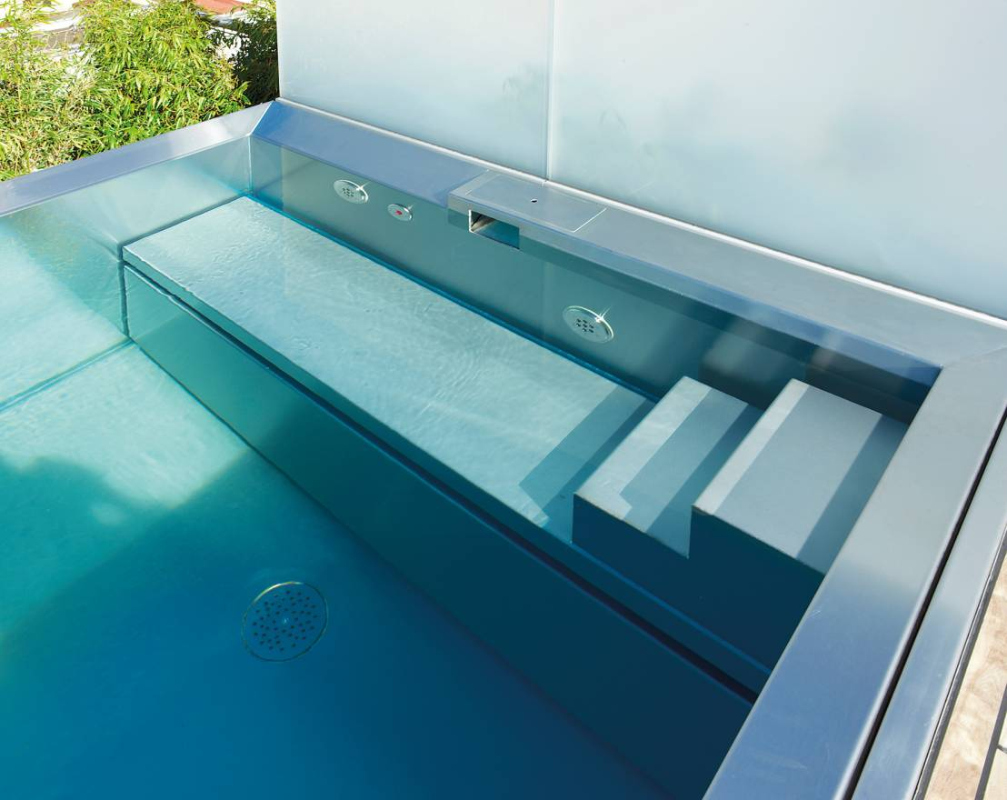 Pools mit stahlbecken for Zwembad desing