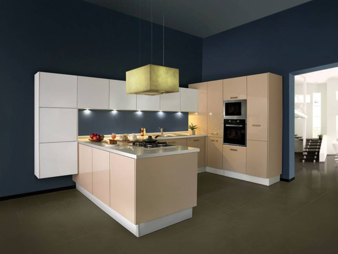 exquisite l shaped modular kitchen designs