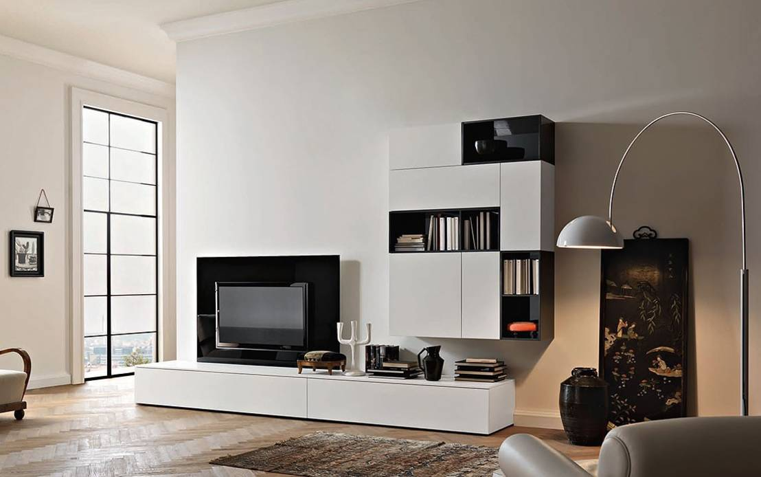 moderne tv m bel. Black Bedroom Furniture Sets. Home Design Ideas