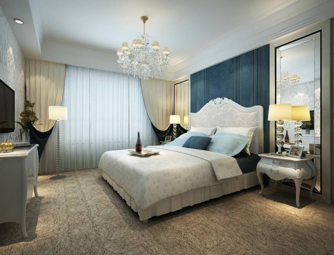 Residential interior classic style bedroom by topos partners - Master bedroom deco ideeen ...