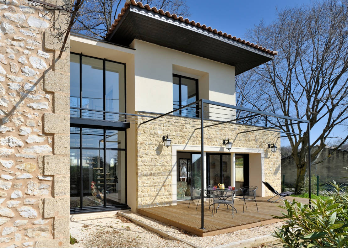10 extensions pour maisons incroyables for Extension moderne