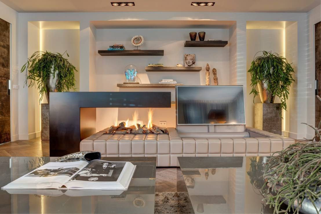 Luxe Woonkamer : Baden in luxe woonkamer chic