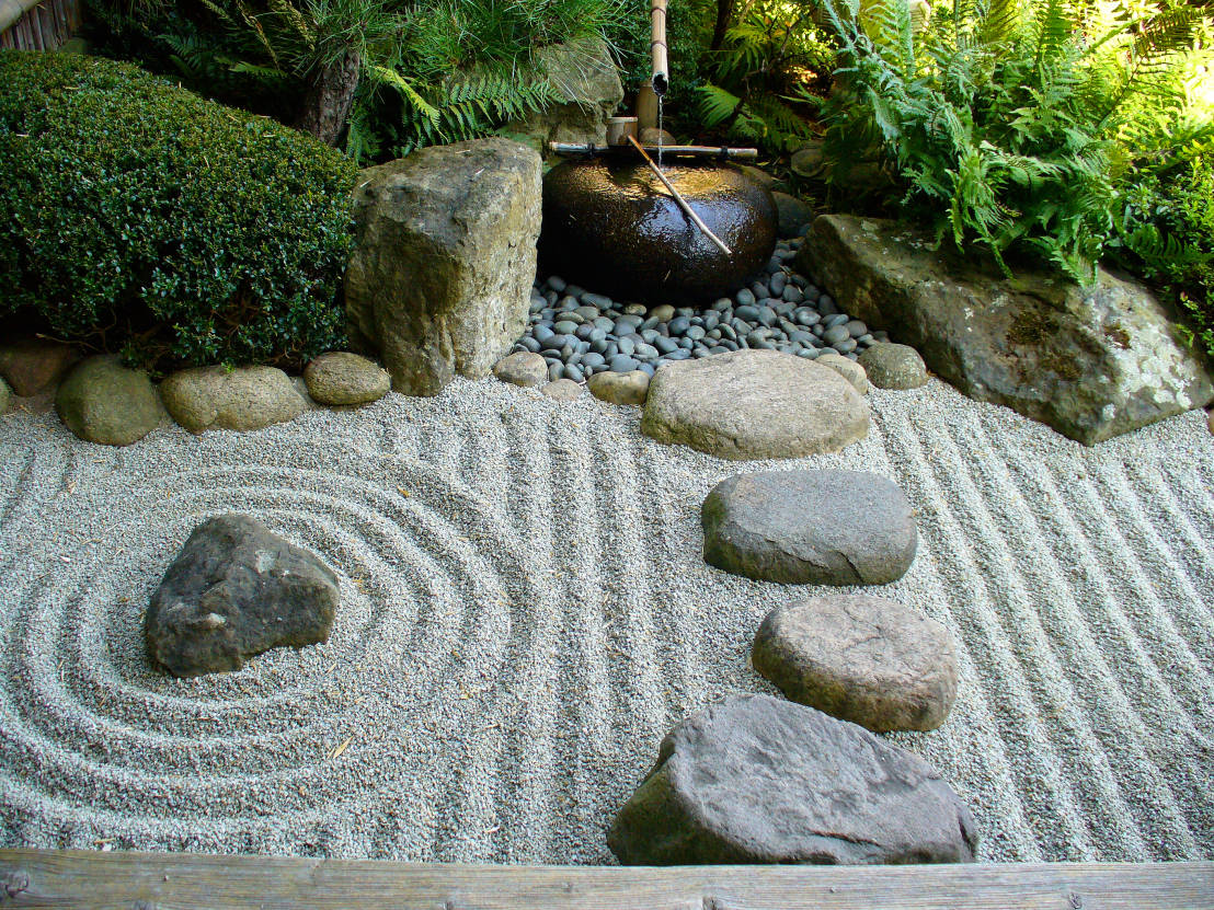 Gartendesign ideen for Japanische gartendekoration