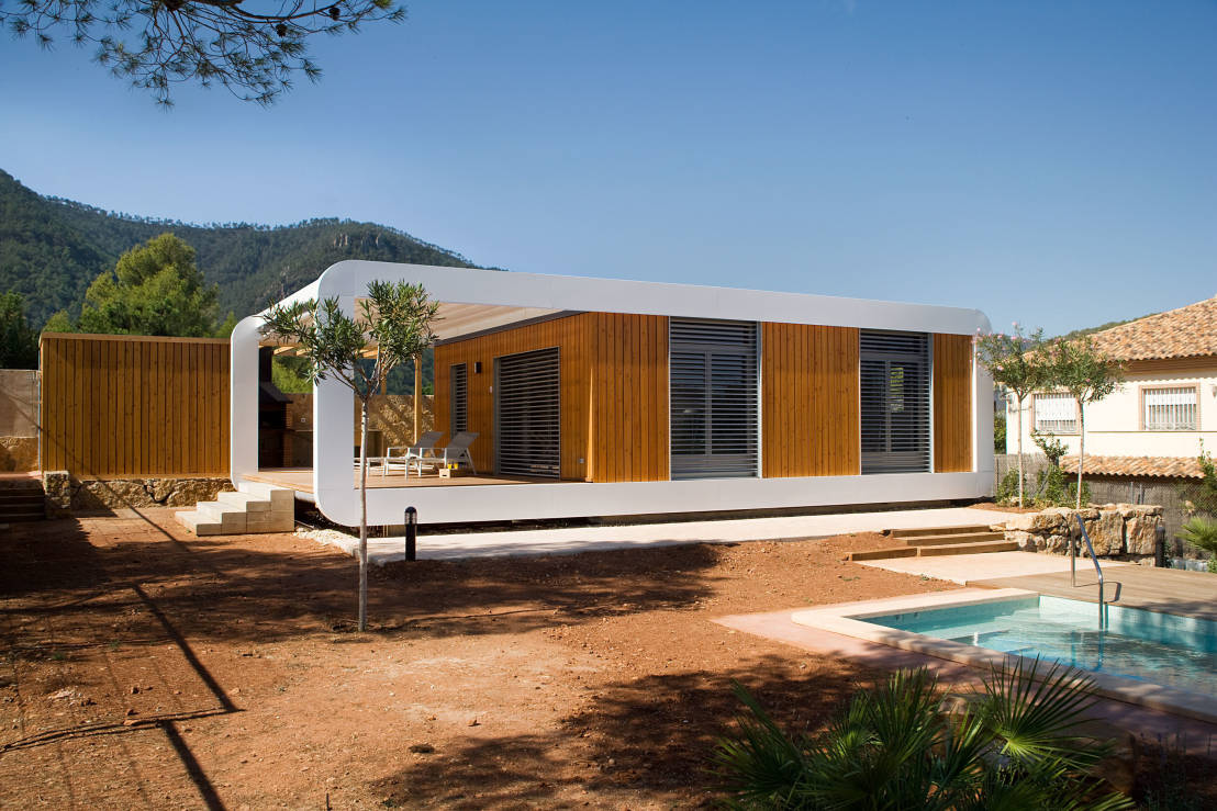 Tendencias casas ecol gicas y modernas - Quick built homes ...