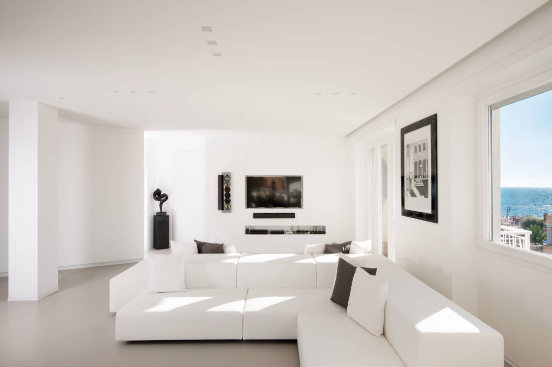 Living Room With Too Many Doors