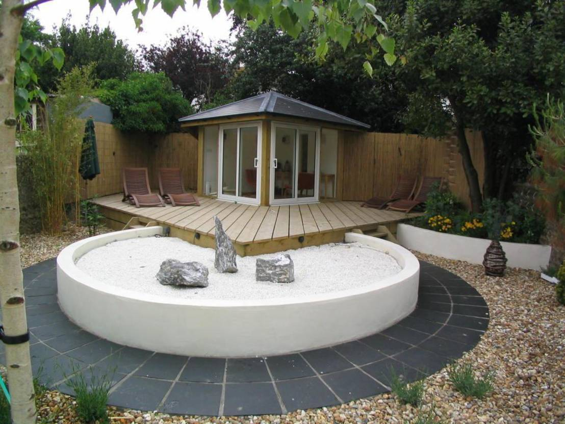Garden design ideas for Garden designs with summer house