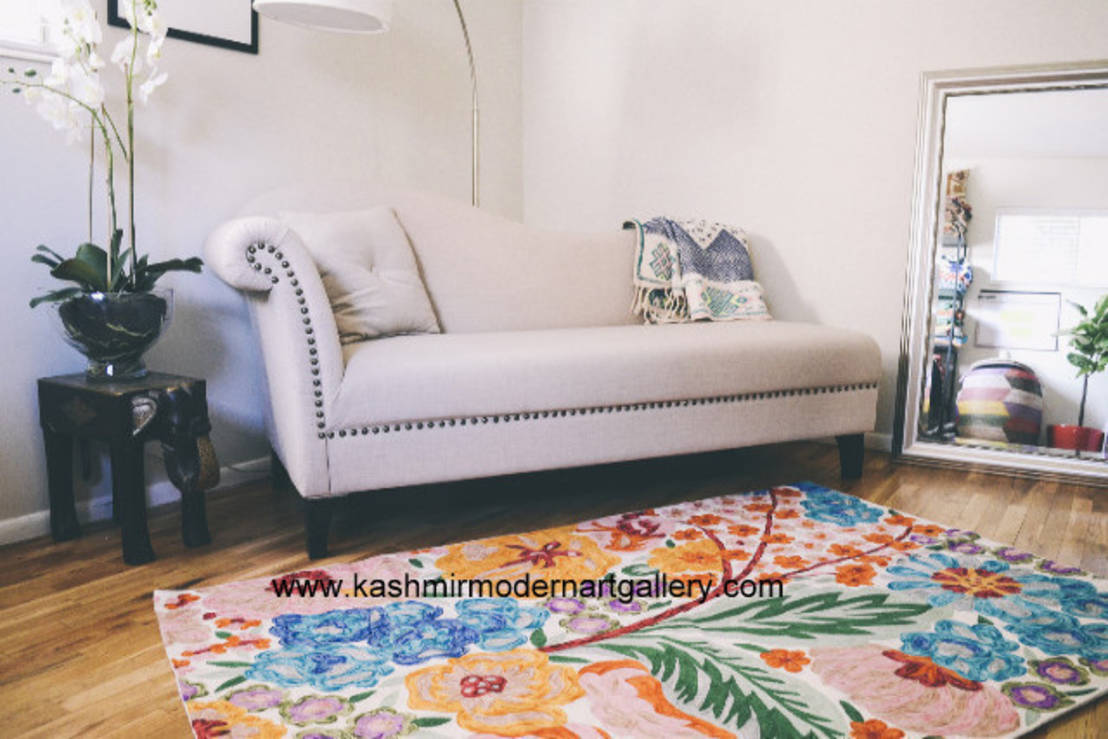 Ideas for indian inspired home decor for Home inspired by india rug