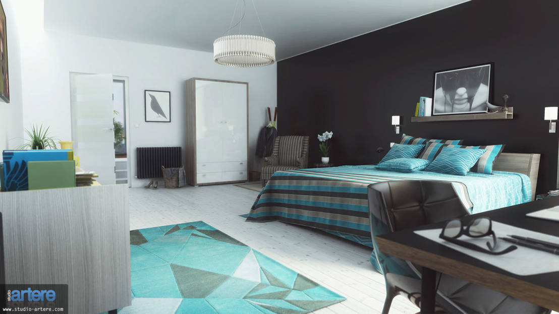 10 id es peinture pour chambre d 39 adulte. Black Bedroom Furniture Sets. Home Design Ideas