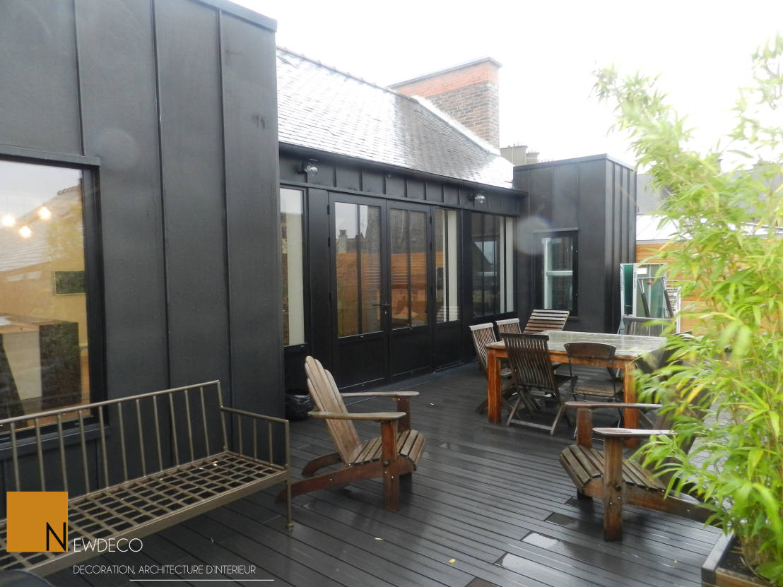 L 39 inimaginable secret de cette r novation for Idee deco terrasse appartement