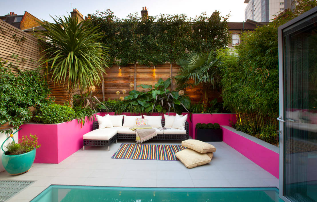 Grandes ideas para patios peque os for Como decorar un jardin grande