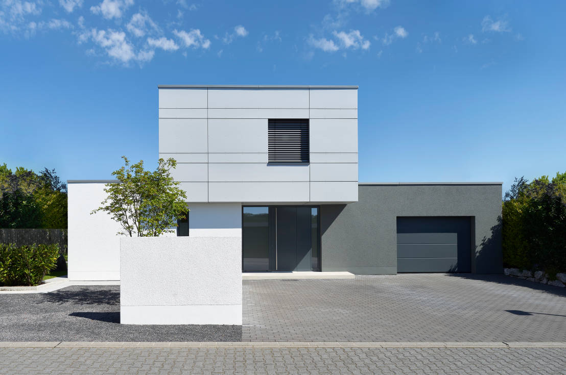 Raffiniertes wohnhaus in modernem design for Architektur moderne