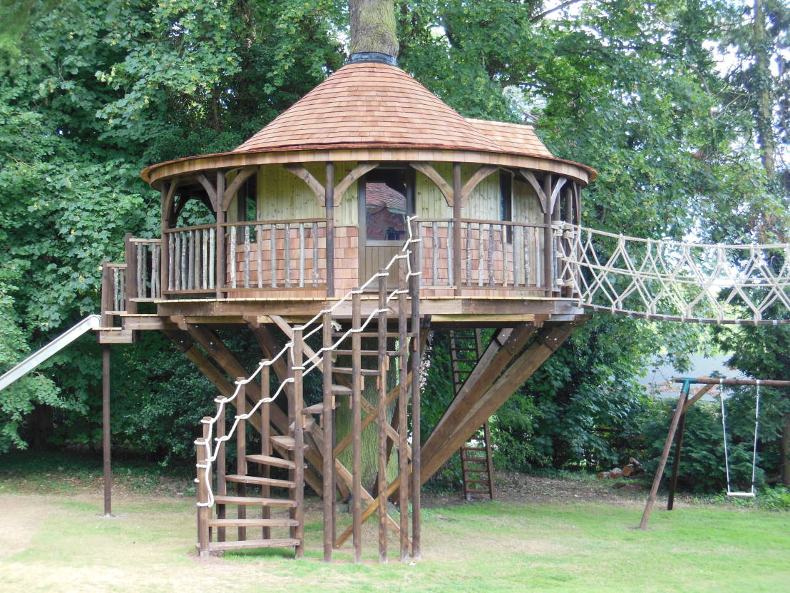 5 fun designs kids tree houses