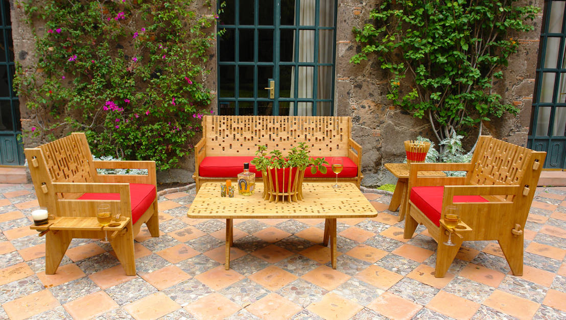 Patios estilo mexicano 10 ideas sensacionales for Azulejos para patios interiores
