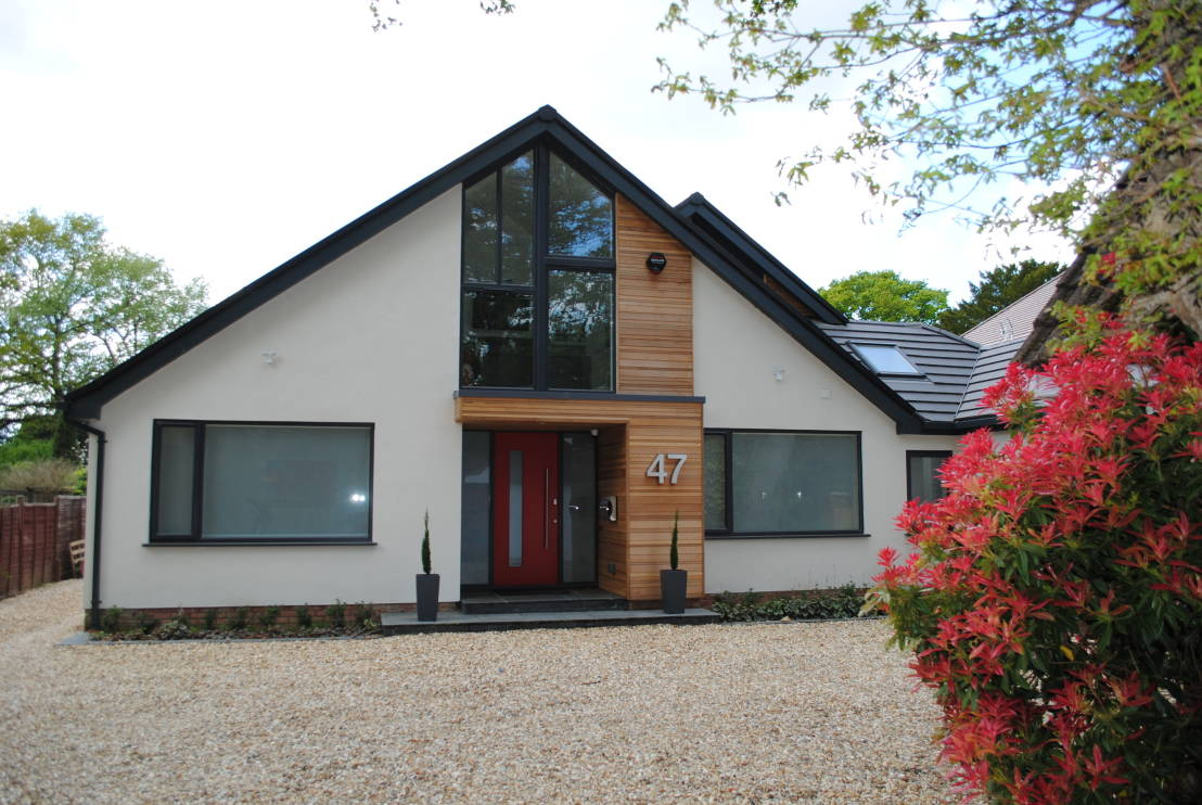 Contemporary Chalet Bungalow Conversion By La Hally: Old Hampshire Home Becomes Mr. Fancypants