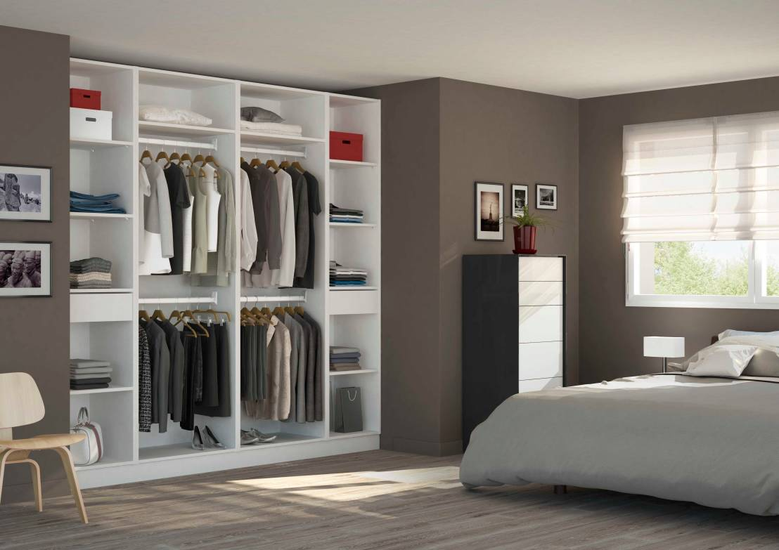 9 astuces pour un dressing parfaitement organis. Black Bedroom Furniture Sets. Home Design Ideas