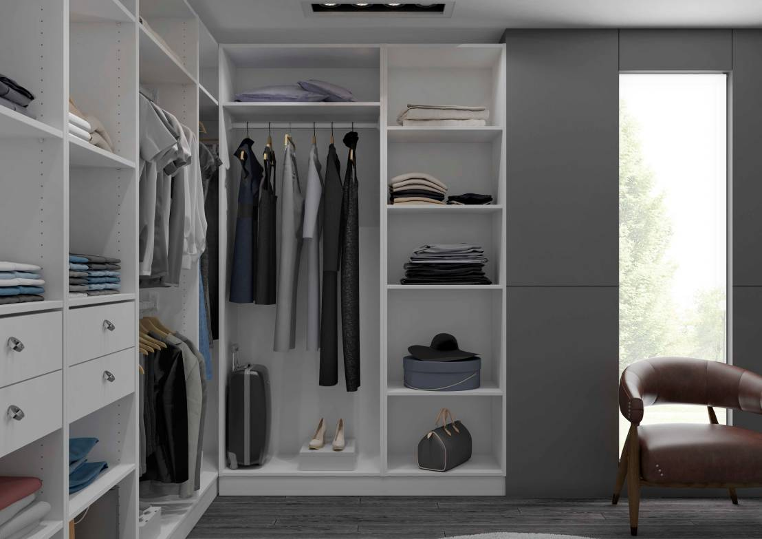 concevoir dressing interesting chaque chambre a t dote duun dressing personnel la vmc double. Black Bedroom Furniture Sets. Home Design Ideas