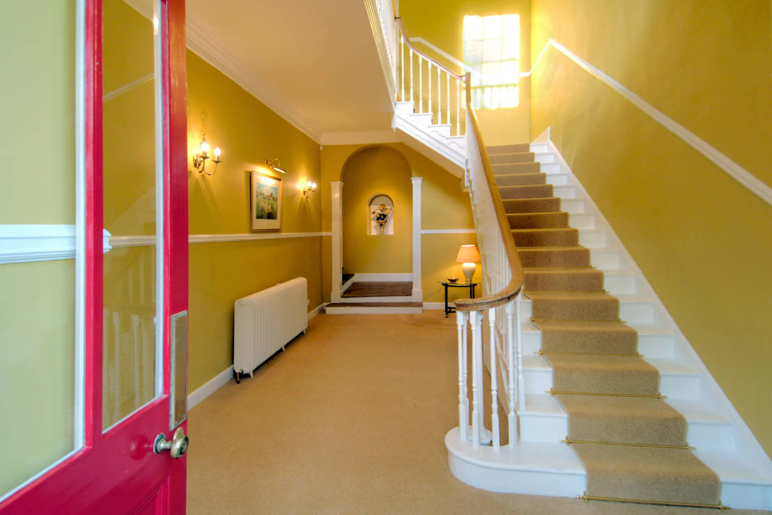 Creating A Good First Impression Hallway Colours