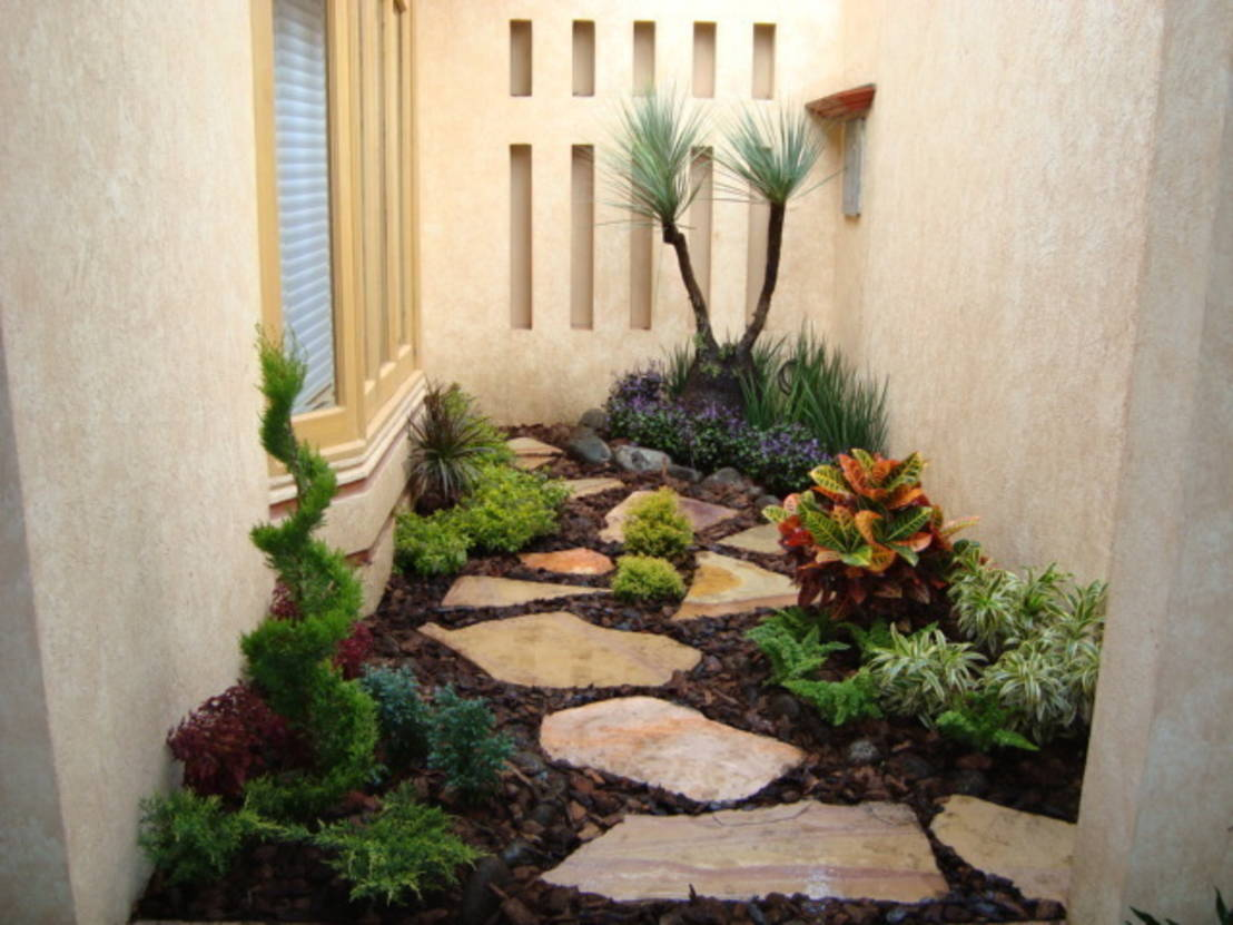 8 dise os de patios peque os for Decoracion jardin exterior pequeno