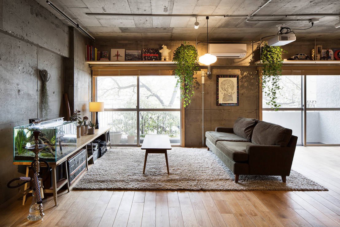 How to design the wabi sabi style for Mobile wohnzimmer